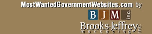 MostWantedGovernmentWebsites.com by Brooks-Jeffrey Marketing, Inc.