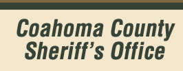 Image of the words, Coahoma County Sheriff's Office